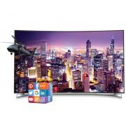 "55"" Fine Arts 55 FLX 9690 SP zakrivljeni Smart LED 4K Ultra HD LCD TV"