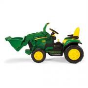 Tractor cu excavator John Deere Ground Loader Peg Perego