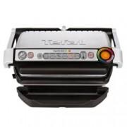 Грил Tefal Optigrill+ GC712D34, система за автоматично готвене, сменяеми плочи, 2000W, инокс