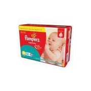 Kit - 6 Pacotes - Pampers Super Sec P - 204 Unid.