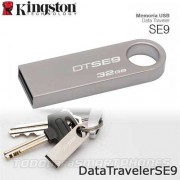 Memoria USB Flash Drive 32GB KINGSTON SE9 Plata