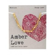 Baltic Amber Children's Necklace - Honey Love 33cm