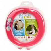 Toaleta portabila - olita portabila, Potette Plus roz