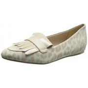 Clarks Women's Oyster Combi Leather Pumps - 3.5 UK