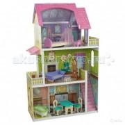 KidKraft Кукольный домик Флоренс Florence с 10 предметами мебели