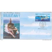 First Day Cover 04 Dec. '05 Builder's Navy.(FDC-2005)