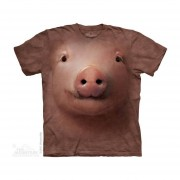 Playera 4d - Unisex- 3244 PIG FACE