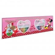 Multiprint kleurset Minnie Mouse 86-delig roze