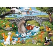 Puzzle Ravensburger - Lumea Animalelor, 100 piese (10947)