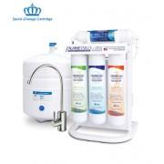 PurePro ERS-105P fordított ozmózis víztisztító nyomásfokozó szivattyúval