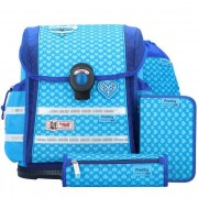 McNeill Ergo Light 912 zaino scuola e accessori (set 4 pz) 37 cm