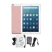 10.1-pulgadas 3+32G Tablet PC Android 6.0 WiFi 2MP+5MP Dual SIM Card Pad US Plug Rosa De Oro