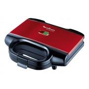 Moulinex Accessimo SM180811 - Croque-monsieur - 650 Watt - rouge/noir
