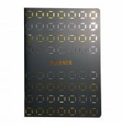 Planner Caderno Anual 20 Folhas - Dourado