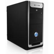 Case Black con alimentatore 500W Powerx 2 porte usb frontali