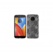 Funda Para Celular Motorola E4 Plus Paisley Transparente