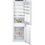 Siemens iQ500 KI86SAF30G Static Integrated Fridge Freezer - White
