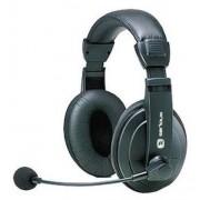 Casti Serioux SRXS-H900MV negre cu microfon