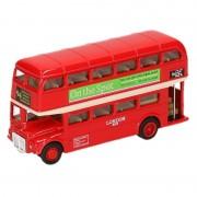 Goki Modelauto London Bus rood 12 cm - Action products