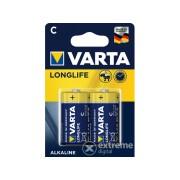 Baterie alcalina Varta Longlife LR14 C baby, 2 buc.