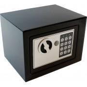 Seif din Otel cu Inchidere Digitala si 2 Chei de Urgenta, Dimensiuni 170x230x170mm