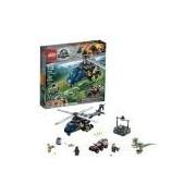 LEGO Jurassic World A Perseguição de Helicóptero de Blue 75928