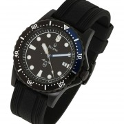 Reloj Bulova Marine Star 98b159 200m -Negro Buceo 200m Wr Tara Y Corona Roscada