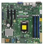 Super Micro X11SSL-F Server Board - Intel Xeon E3-1200 v5 Series Support, Socket H4