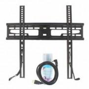 Suport TV LCD de perete 23-60 fix cu snur cablu HDMI solutie de curatat Well