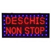 Reclama luminoasa - Deschis Non Stop