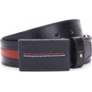 Tommy Hilfiger Men Blue, Red Belt