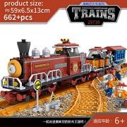 Generic Model Building Block Train Rails Trafic Set Blocks Educational Model Building Toys Bricks Children 25710