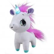Jucarie interactiva din plus wish me unicorn roz cu verde