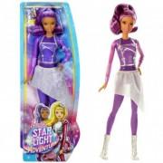 Barbie Csillagok között - lila ruhás baba