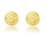 Cercei Borealy Aur Galben 9 K Diamond Cut