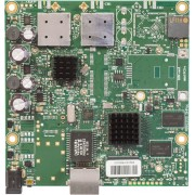 MikroTik MikroTik RouterBOARD 911G with 720Mhz Atheros CPU, 128MB RAM, 1xGigabit LAN, built-in 5Ghz 802.11a/c 2x2 two chain wireless, 2xMMCX connectors, RouterOS L3