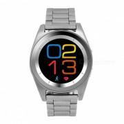 NO.1 G6 Bluetooth 4.0 Smart Watch con monitor de ritmo cardiaco - Acero de plata