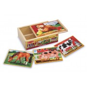 Farm Jigsaw Puzzle in a Box by Melissa & Doug