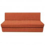 Ikasa sofá cama matrimonial torino naranja
