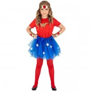 Costum wonder girl 4-5 ani - marimea 158 cm