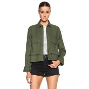 The Great Swingy Army Jacket in Green. - size 3 / L (also in 0 / XS,1 / S,2 / M)