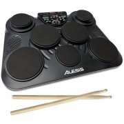 Kit De Percusiones Electricas Alesis CompactKit 7 - Negro