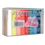 Plastilina, 16 culori/set, HERLITZ Economic