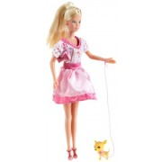 Simba Steffi Love Pink and Blonde, Multi Color (4 Assortment)