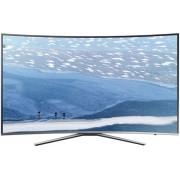 Televizor LED Samsung UE65KU6502, curbat, smart, Ultra HD, PQI 1600, 65 inch, DVB-T2/C/S2, argintiu