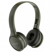 HEADPHONES, Panasonic RP-HF410BE-G, Bluetooth, Microphone, Green