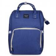Rucsac multifunctional, geanta mamici-organizator Ganen Baby, Navy Blue