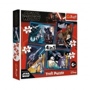 Set 4 Puzzle Trefl Star Wars