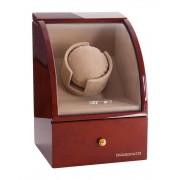 Watch Winder Basel 1 BROWN by Designhütte – Made in Germany