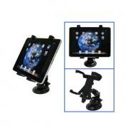 Shop4 - iPad Houder Auto Tablet Raam Klem Zwart